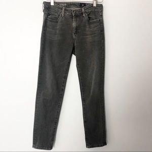 AG Prima Crop Mid Rise Cigarette Jeans